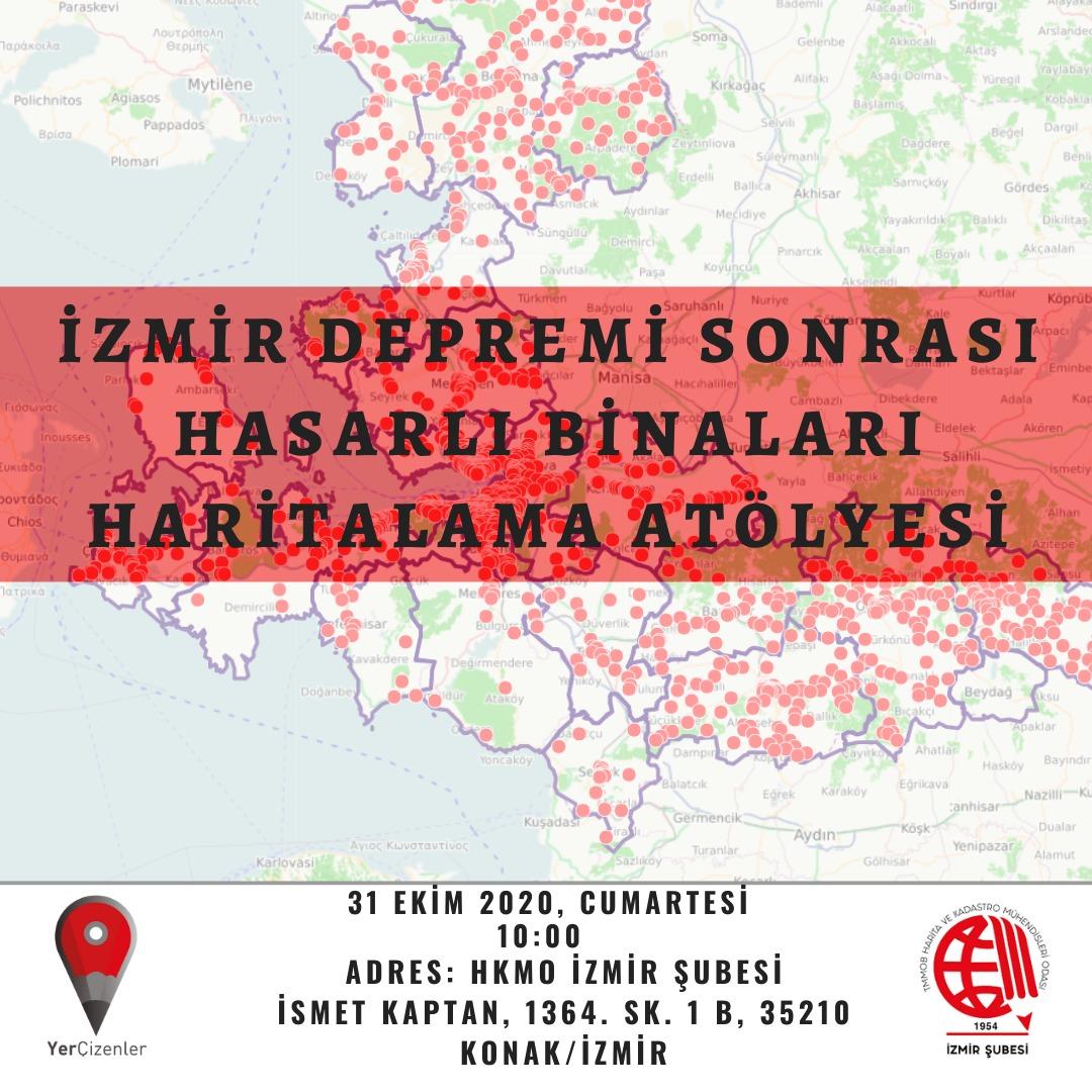 İzmir Hasarlı Bina Haritalama Çalışması